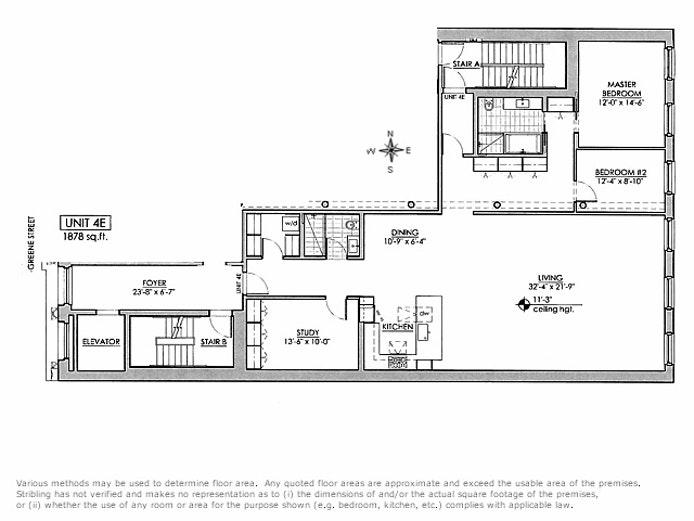 28 Greene Street 4E, Tribeca/SOHO/Chinatown, NYC, $12,750, Web #: 19503362