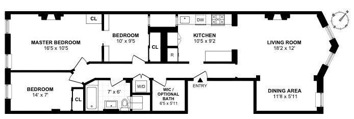 410 2nd Street 2, Brooklyn, New York, $1,450,000, Web #: 19516242