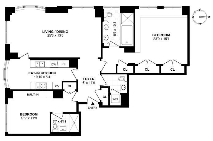 181 East 65th Street 15A, Upper East Side, NYC, $2,650,000, Web #: 19523538