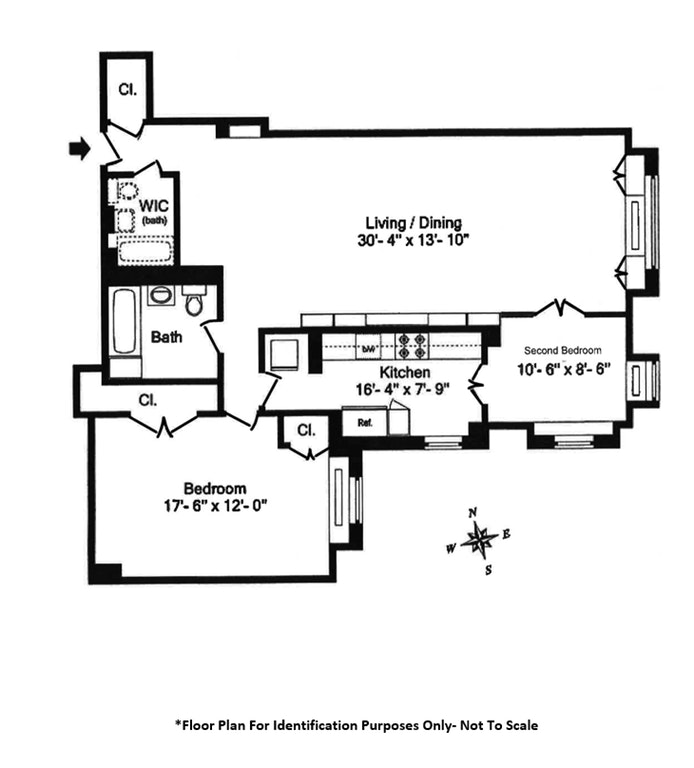 30 East 62nd Street 5G, Upper East Side, NYC, $1,520,000, Web #: 19533678