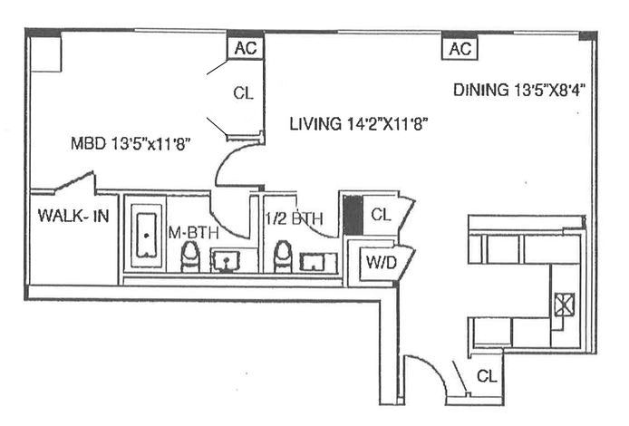 475 Greenwich Street 3C, Tribeca/SOHO/Chinatown, NYC, $6,000, Web #: 19534157