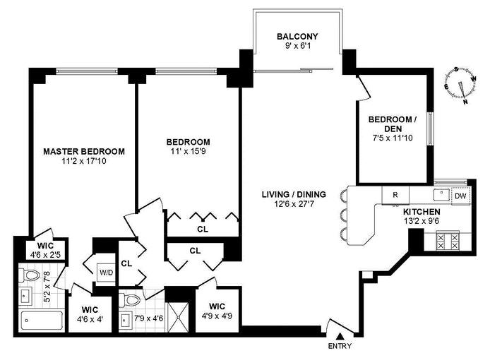 45 East 89th Street 18G, Upper East Side, NYC, $8,500, Web #: 19544241