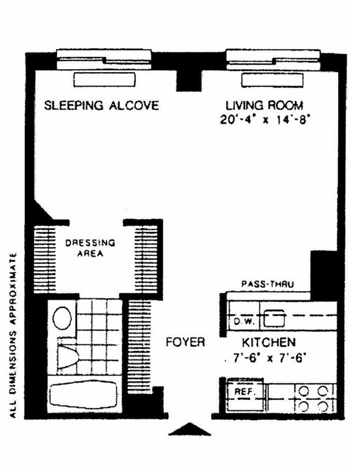300 East 85th Street 805, Upper East Side, NYC, $2,650, Web #: 19557288