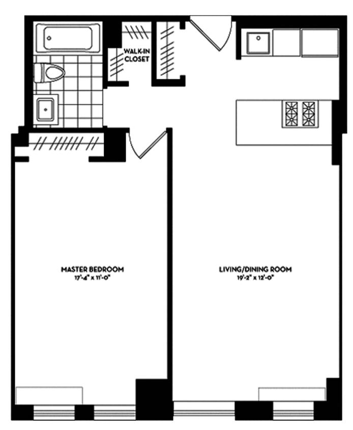 225 Rector Place 17F, Battery Park City, NYC, $3,950, Web #: 19569759