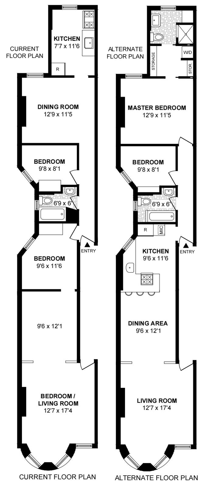 707 Carroll Street 2L, Brooklyn, New York, $850,000, Web #: 19571114