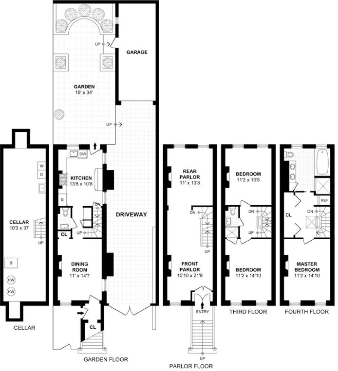 415 Dean Street, Park Slope, New York, $3,500,000, Web #: 19578557