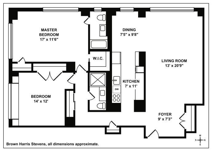 79 West 12th Street 9D, Greenwich Village/Chelsea, NYC, $1,995,000, Web #: 19592687