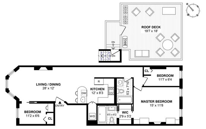 432 3rd Street 3, Brooklyn, New York, $1,500,000, Web #: 19603240