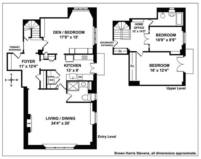 2 West 67th Street 8De, Upper West Side, NYC, $2,700,000, Web #: 19604803