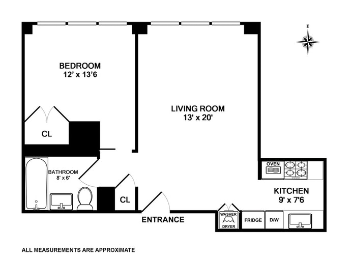 241 Fifth Avenue 5C, Murray Hill/Kips Bay, NYC, $4,000, Web #: 19605926