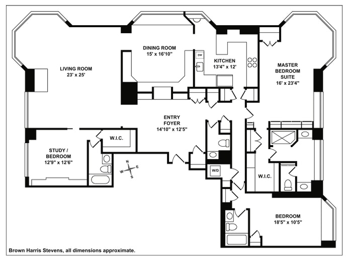 200 East 65th Street 33North, Upper East Side, NYC, $5,500,000, Web #: 19627960