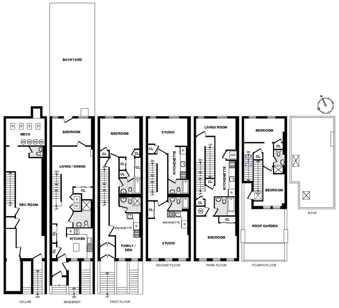 309 West 137th Street, Harlem, NYC, $1,997,000, Web #: 19634234