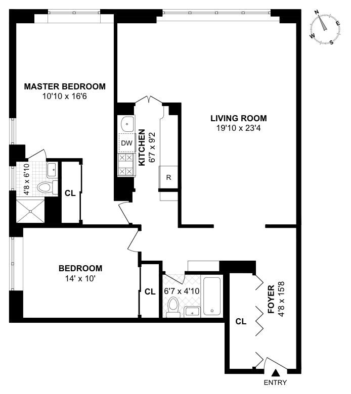 239 East 79th Street 6P, Upper East Side, NYC, $1,345,000, Web #: 19638008