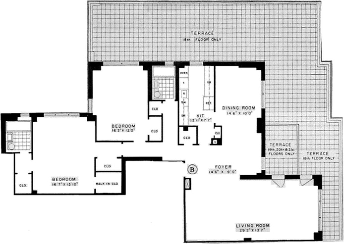 315 East 72nd Street 18B, Upper East Side, NYC, $1,950,000, Web #: 19651857