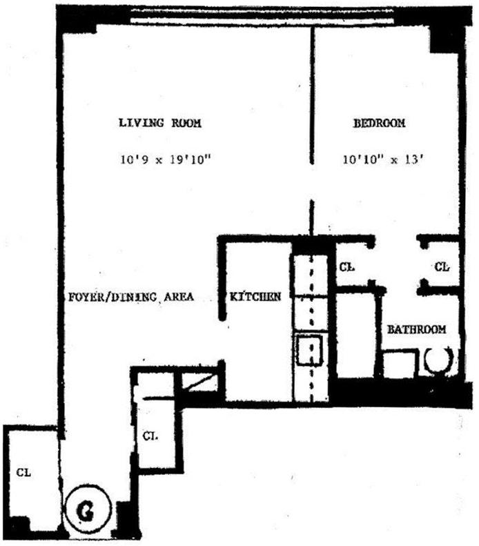235 East 87th Street 2G, Upper East Side, NYC, $385,000, Web #: 19659424