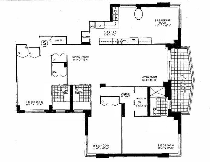 3333 Henry Hudson Pkwy W 2S, Riverdale, New York, $798,000, Web #: 19665481