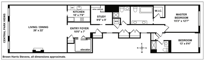22 Central Park South 3rd Floor, Midtown West, NYC, $13,000, Web #: 19686543