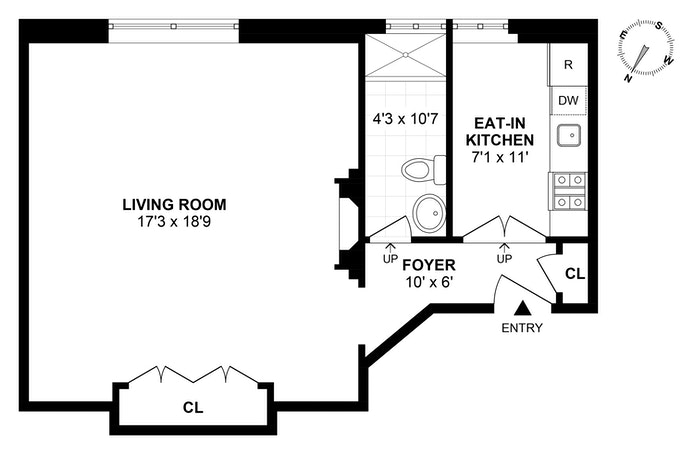 755 Park Avenue 9H, Upper East Side, NYC, $425,000, Web #: 19707626