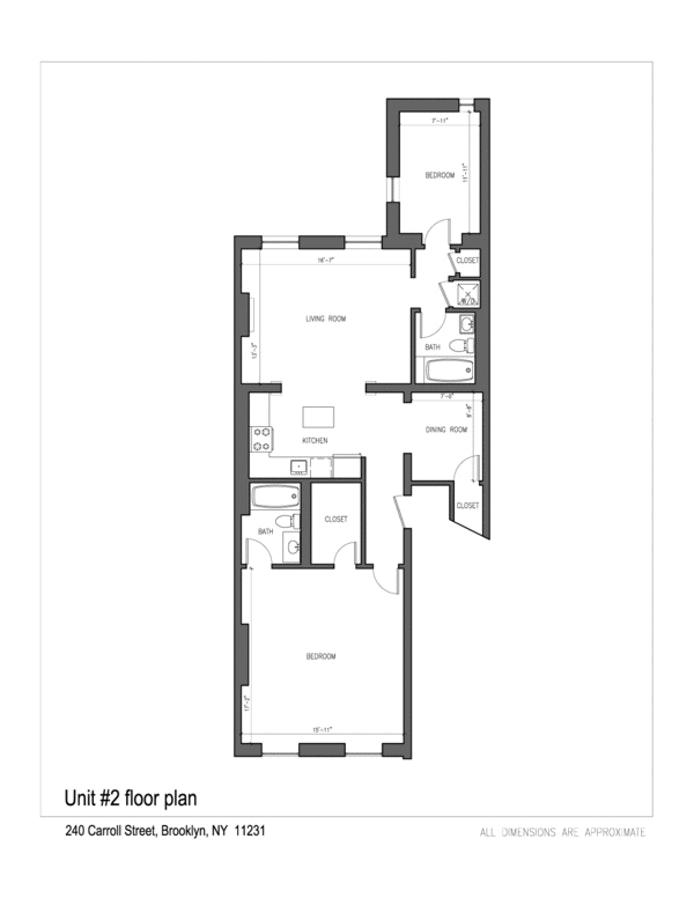 240 Carroll Street 2, Brooklyn, New York, $5,750, Web #: 19727063