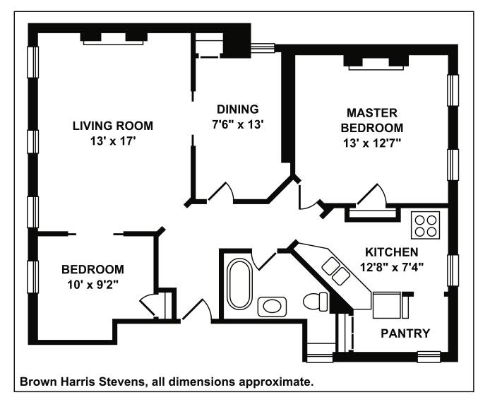 126 Greene Avenue 1E, Brooklyn, New York, $925,000, Web #: 19735125