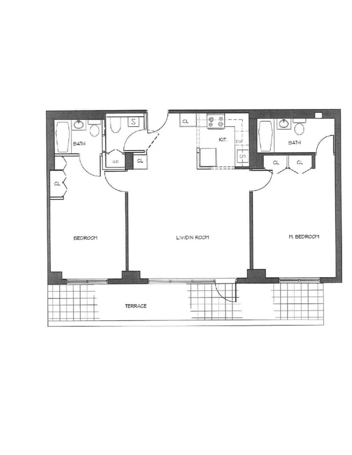 116 Central Park S 3B, Midtown West, NYC, $6,500, Web #: 19740997