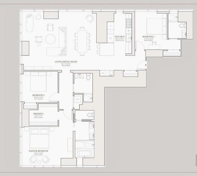 45 East 22nd Street 20A, Flatiron/Gramercy Park, NYC, $20,995, Web #: 19744957