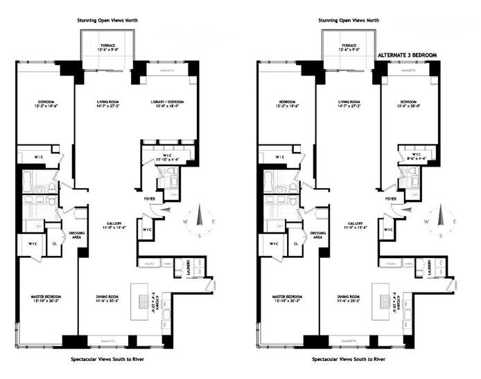 425 East 58th Street 47E, Midtown East, NYC, $1,800,000, Web #: 19752398