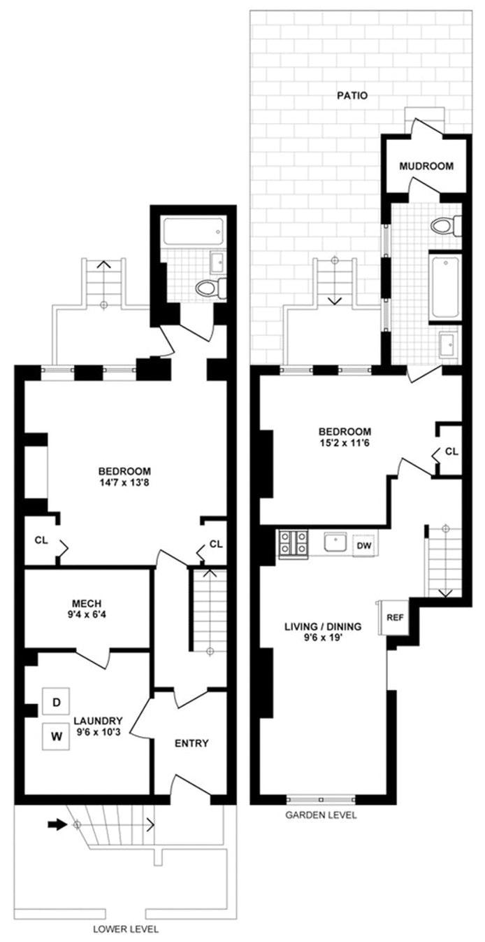 226 Cumberland Street 1, Brooklyn, New York, $3,950, Web #: 19752438