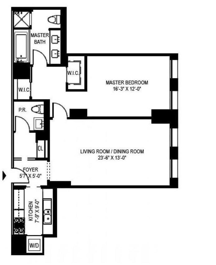 170 East End Avenue 2C, Upper East Side, NYC, $5,800, Web #: 19794066