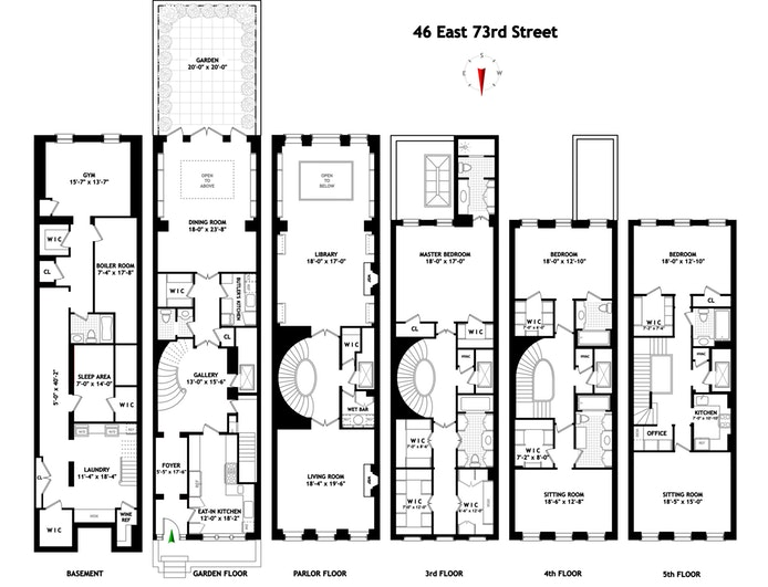 46 East 73rd Street, Upper East Side, NYC, $18,750,000, Web #: 19802528
