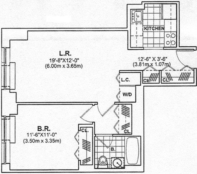 215 East 96th Street 37F, Upper East Side, NYC, $3,700, Web #: 19823194