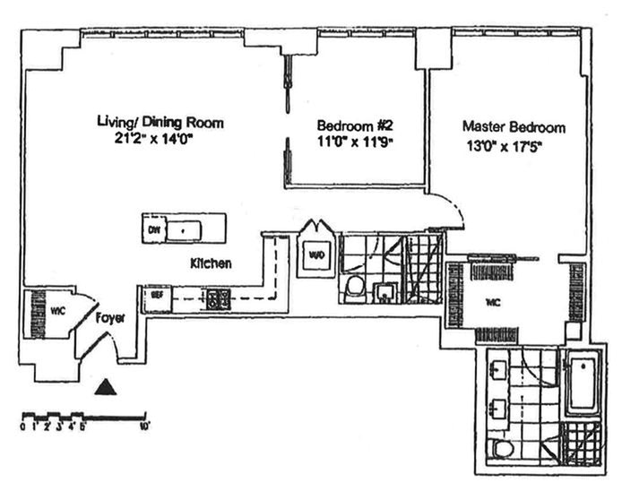 4 West 21st Street 10A, Flatiron/Gramercy Park, NYC, $9,000, Web #: 19827934