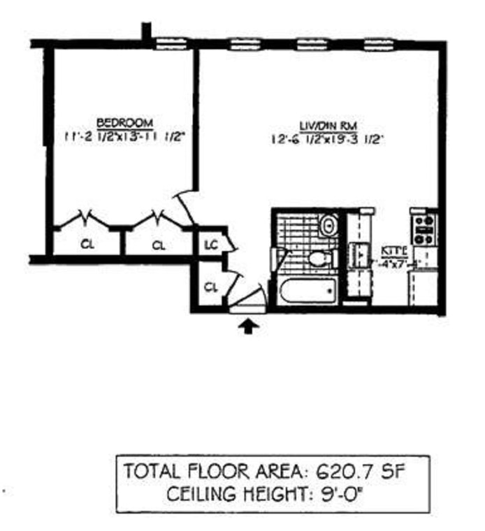 123 Boerum Place 2B, Brooklyn, New York, $720,000, Web #: 19830660