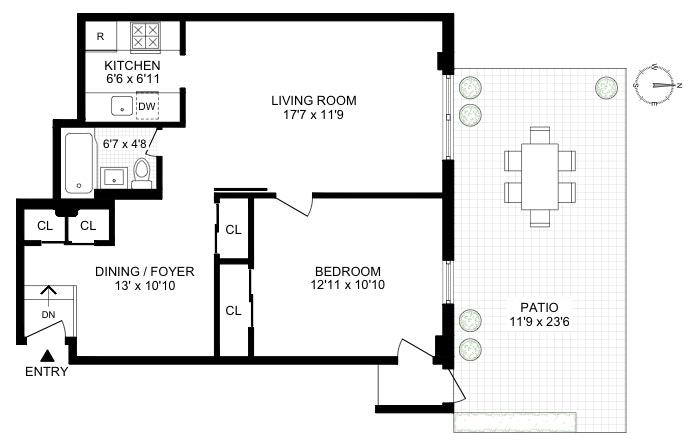 439 East 88th Street A, Upper East Side, NYC, $649,000, Web #: 19836845