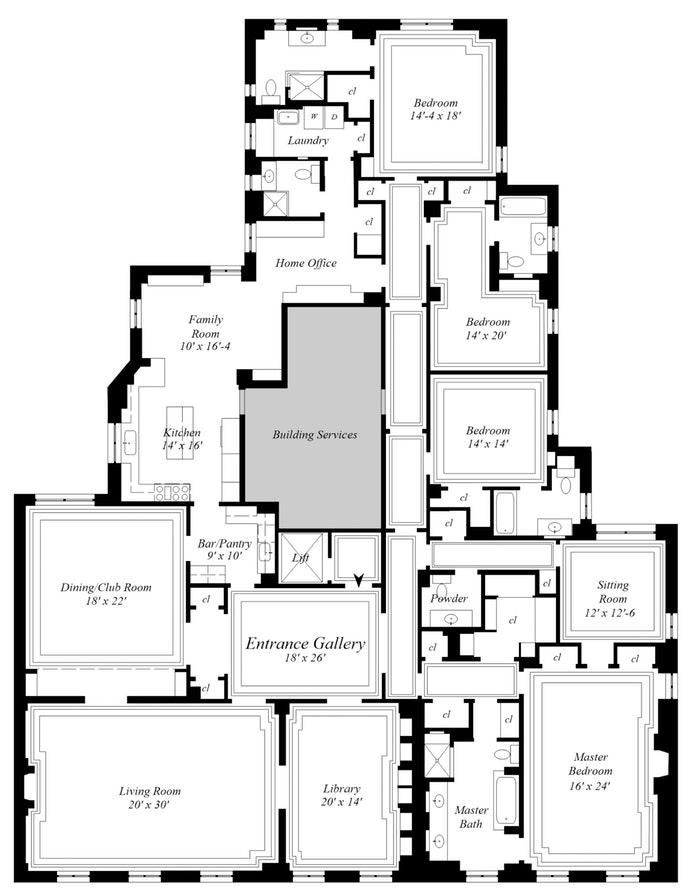 993 Fifth Avenue 10thfloor, Upper East Side, NYC, $27,500,000, Web #: 19846417