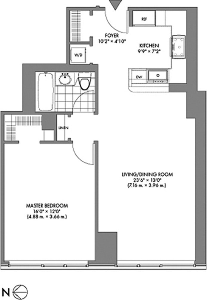 10 West End Avenue 11C, Upper West Side, NYC, $3,900, Web #: 19846466