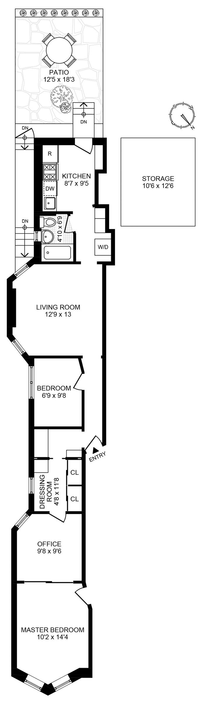 790 President Street 1L, Brooklyn, New York, $895,000, Web #: 19847046