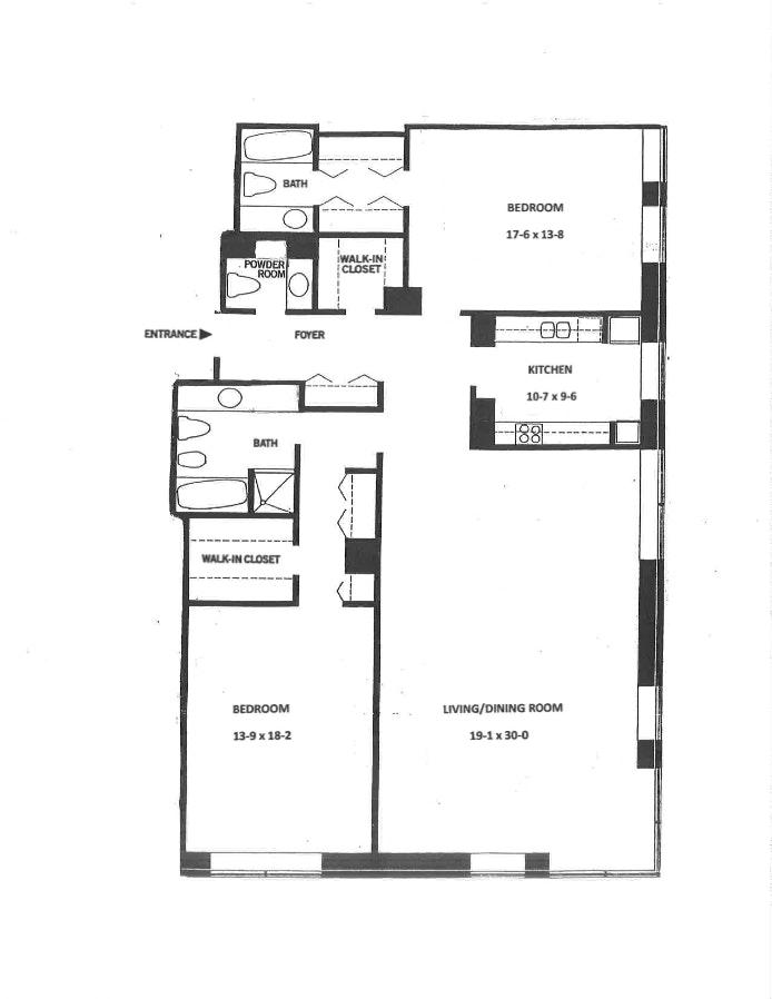 15 West 53rd Street 20B, Midtown West, NYC, $2,790,000, Web #: 19857597