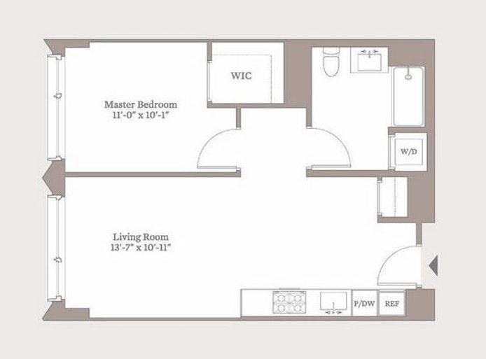 550 Vanderbilt Avenue 818, Brooklyn, New York, $3,700, Web #: 19857715