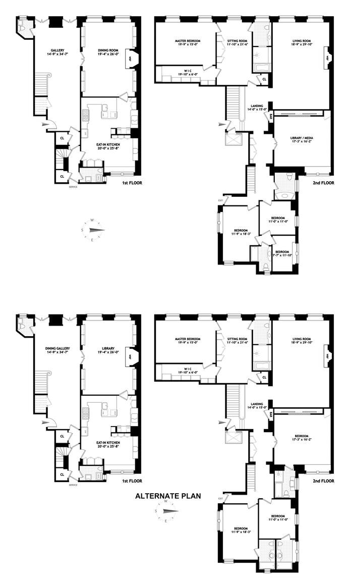 960 Fifth Avenue 1/2B, Upper East Side, NYC, $11,500,000, Web #: 19875642