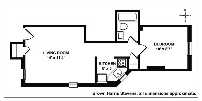 345 West 21st Street 3C, Greenwich Village/Chelsea, NYC, $485,000, Web #: 19878294
