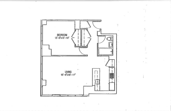 350 West 42nd Street 54A, Midtown West, NYC, $4,900, Web #: 19882775
