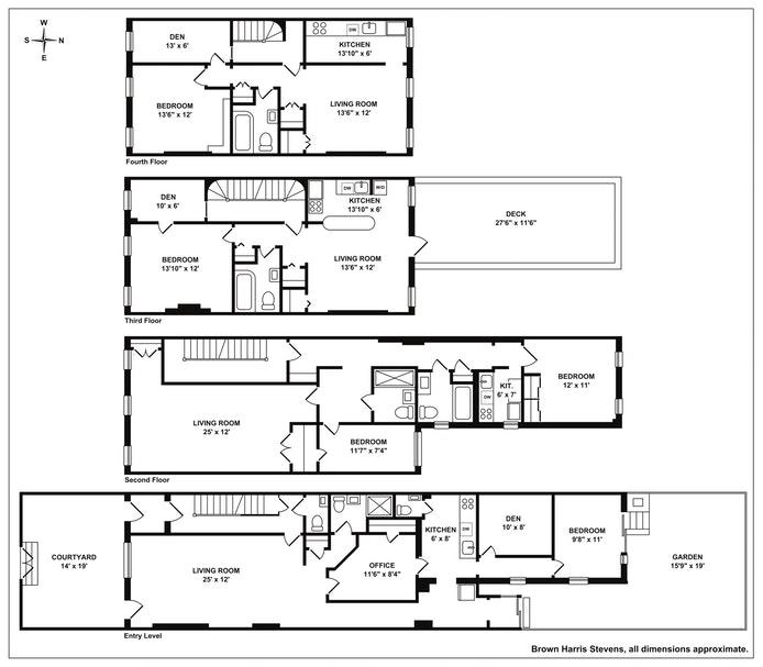 331 East 65th Street, Upper East Side, NYC, $4,250,000, Web #: 19904127