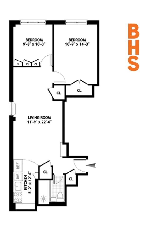 439 East 88th Street 2B, Upper East Side, NYC, $680,000, Web #: 19922668