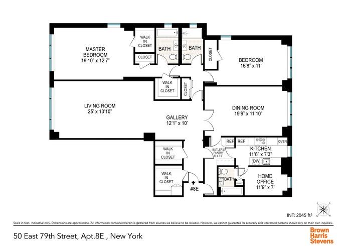 50 East 79th Street 8E, Upper East Side, NYC, $1,975,000, Web #: 19929813