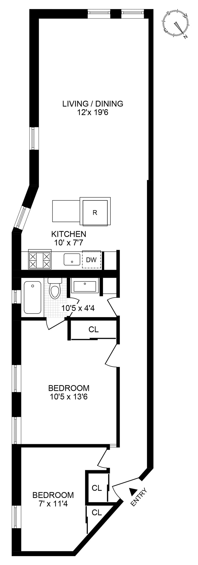 176 Sterling Place 6L, Brooklyn, New York, $925,000, Web #: 19930211