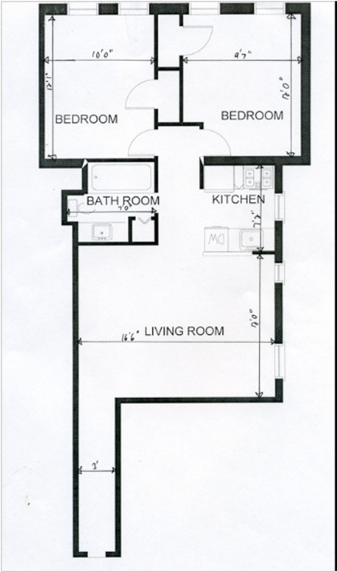 14 Butler Place 77, Brooklyn, New York, $3,000, Web #: 19930251