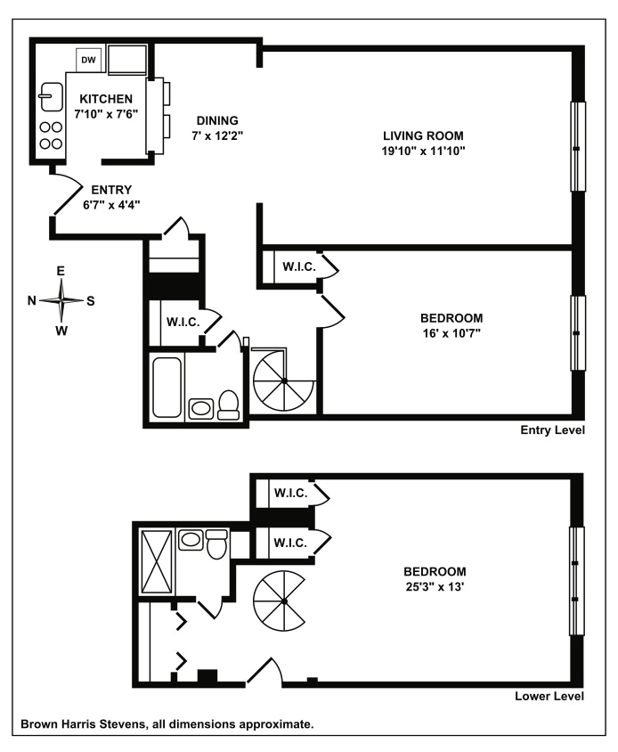 337 East 50th Street 2E, Midtown East, NYC, $849,000, Web #: 19935413