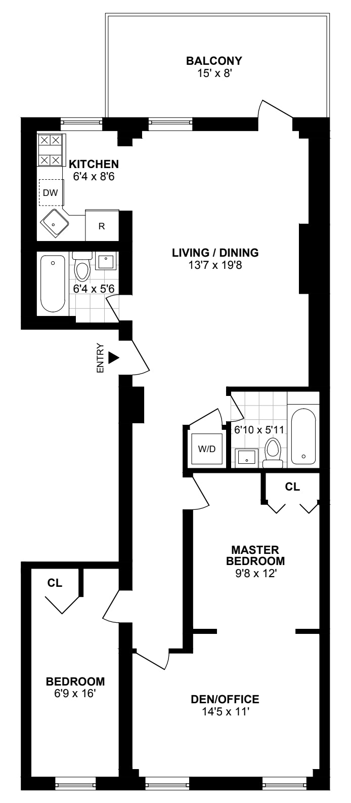 293 Henry Street 2, Brooklyn Heights, New York, $7,500, Web #: 19939547