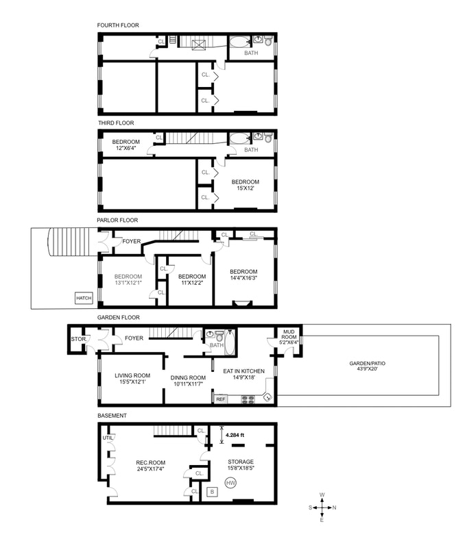 137 Hancock Street, Bedford Stuyvesant, New York, $1,800,000, Web #: 19959179